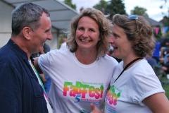 Peter, Tori and Philippa discuss a successful day