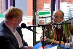 Paul talks to poet Robin Bailey