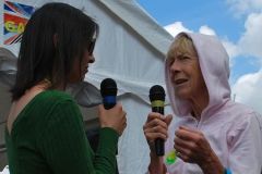 Alex interviews Sue who volunteers for Friends of the Earth