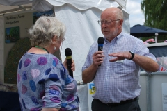 Penny interviews Roger Clay from the Avon Navigation Trust